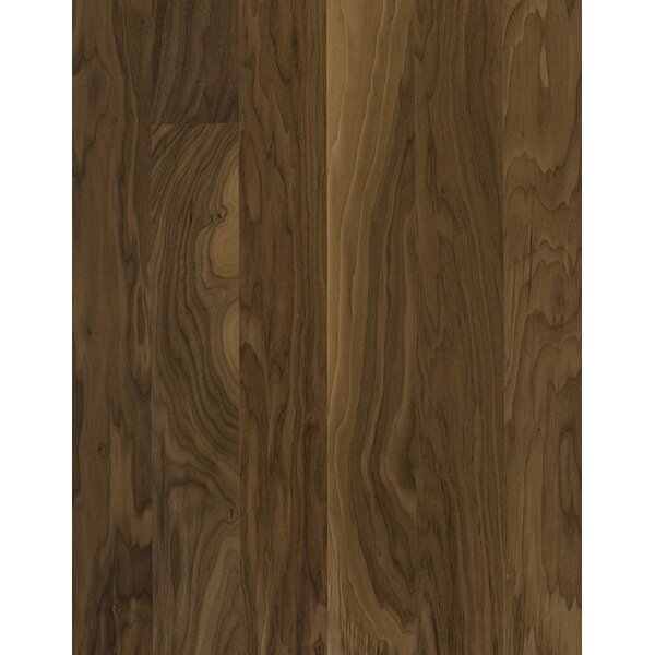 Spirit 5 Engineered Walnut Hardwood Flooring in Garden by Kahrs