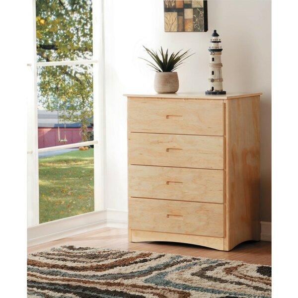 Mitcheldean Wooden 4 Drawers Chest by Ebern Designs