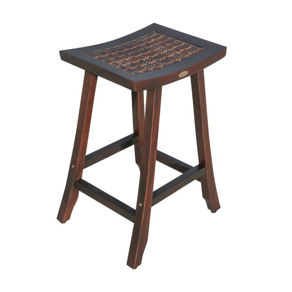 Satori Teak Bar Stool by EcoDecors