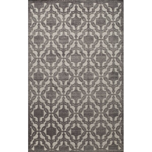 Sheldon Charcoal Area Rug by Threadbind