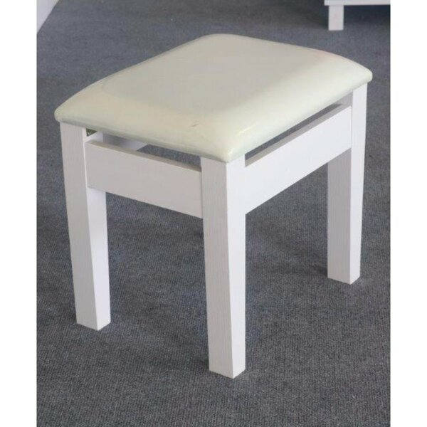 Charlisa Comforting Dressing Vanity Stool by Red Barrel Studio