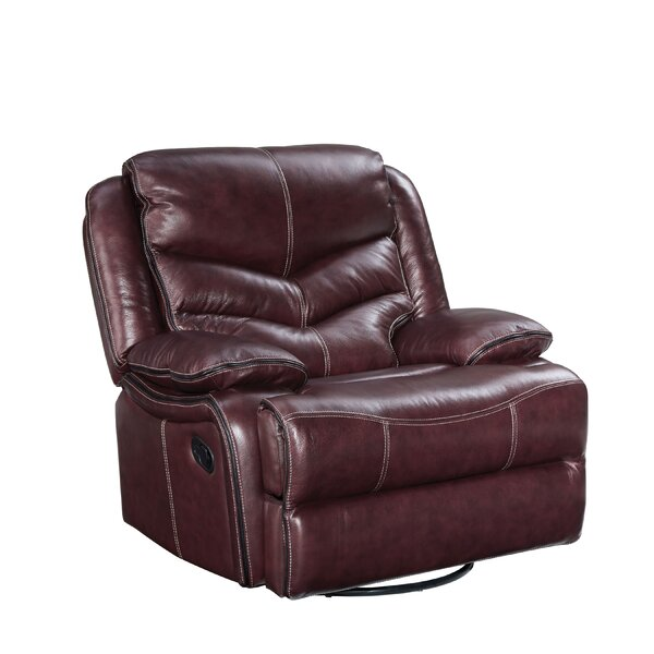 Washington Manual Swivel Glider Recliner by Three Posts