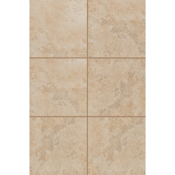 Medfordton Glazed 13 x 13 Porcelain Field Tile in Sandy Desert by Mohawk Flooring