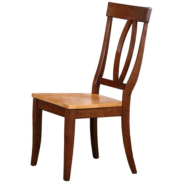 Garden Grove Solid Wood Dining Chair (Set of 2) by Alcott Hill