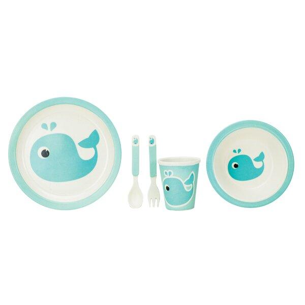 Culebra Kids 5 Piece Dinnerware Set, Service for 1 by Harriet Bee
