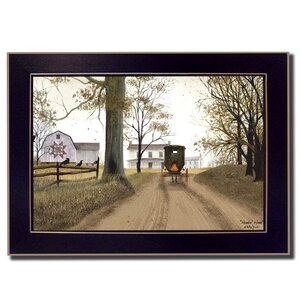 'Headin' Home' Framed Painting Print by August Grove