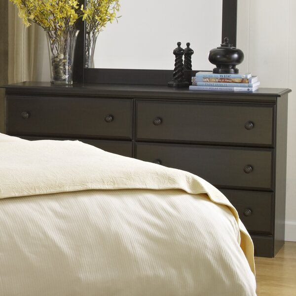 Metcalfe 6 Drawer Double Dresser by George Oliver