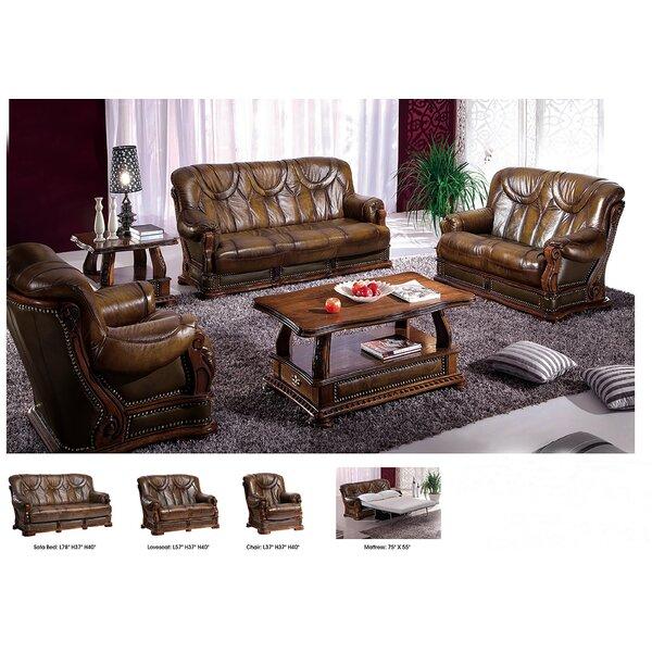 3 Sleeper Piece Living Room Set by Noci Design