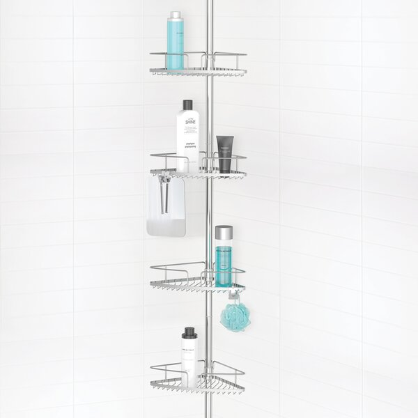Butcher 4 Tier Shower Caddy by Symple Stuff