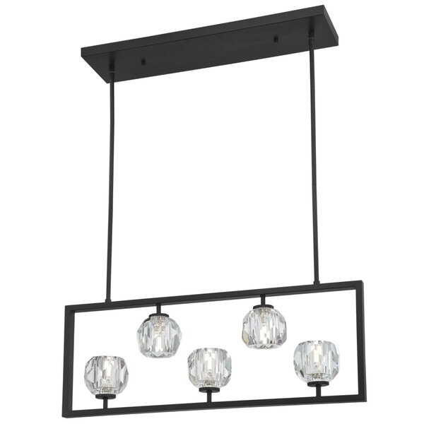 Vancleave 5-Light Rectangle Chandelier by Mercer41