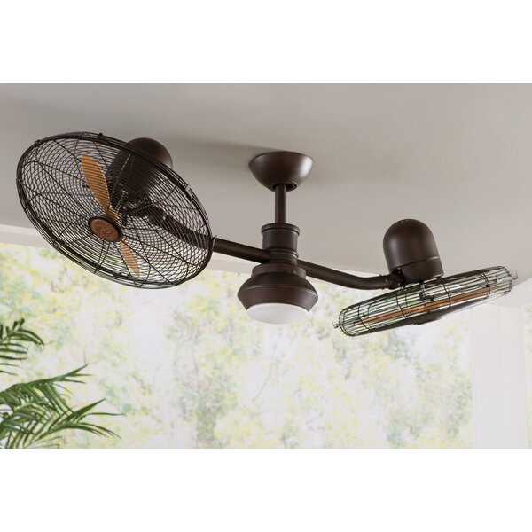 50 Mansell 2 Blade Ceiling Fan with Remote by Bray