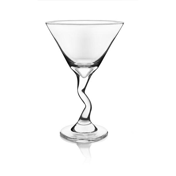 Z-Stem 9.25 oz. Martini Glass (Set of 4) by Libbey