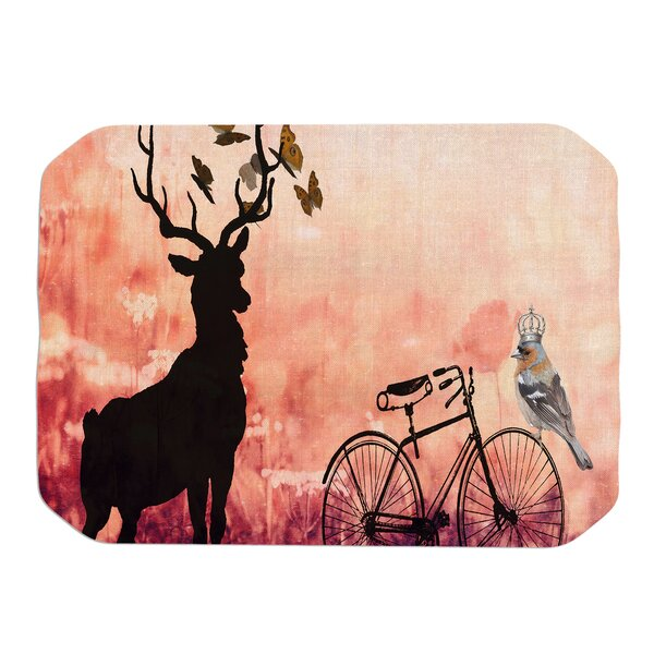 Vintage Forest Placemat by KESS InHouse
