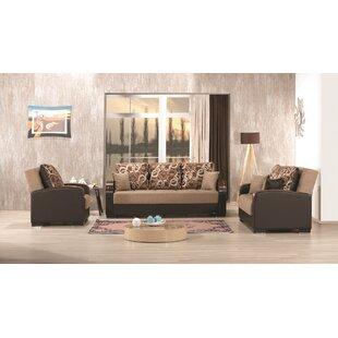Auren 3 Piece Sleeper Living Room Set by Latitude Run®