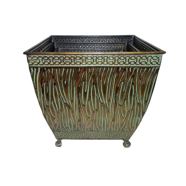3-Piece Metal Pot Planter Set by Cheungs