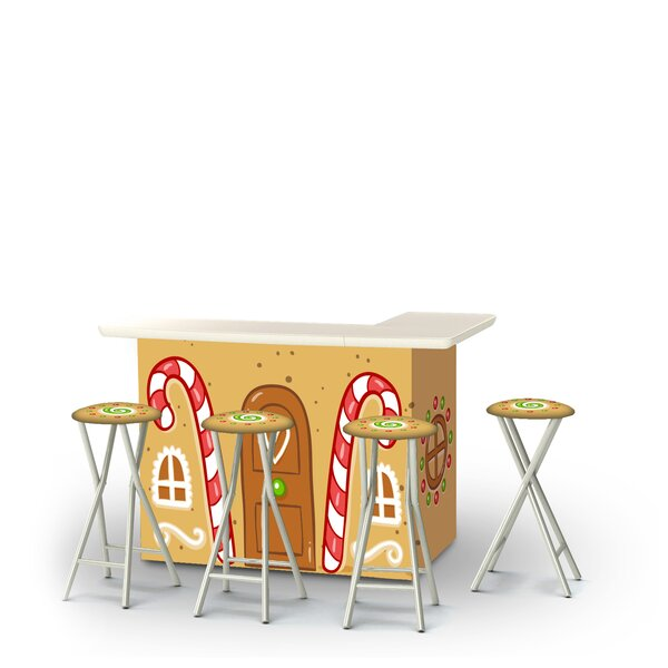 Christmas House 5-Piece Bar Set by The Holiday Aisle