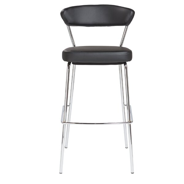 Viviana 29.5 Bar Stool by Wade Logan