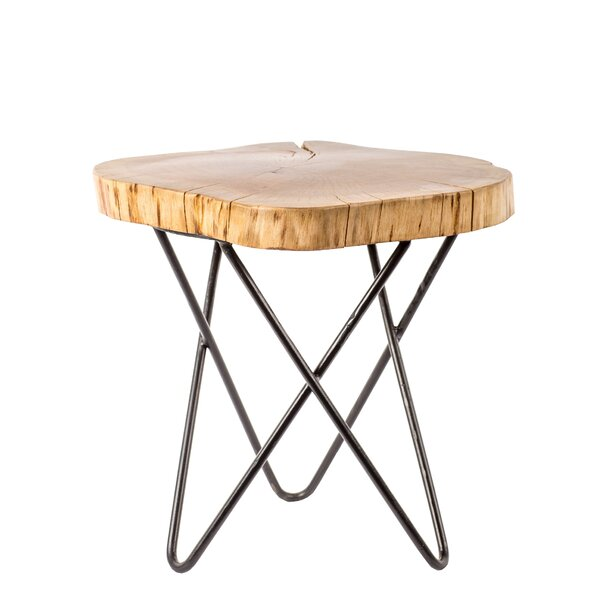 Reeves Accent Stool by Union Rustic