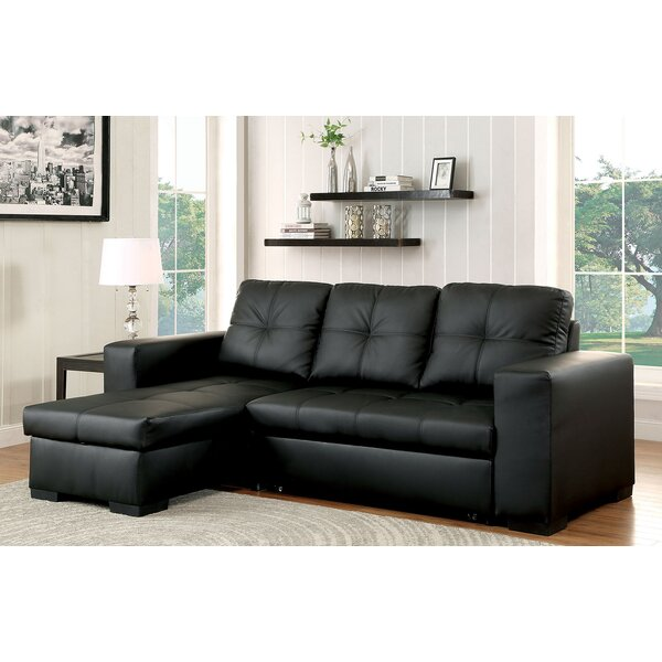 #1 Gussie Sleeper Sectional By Three Posts 2019 Online