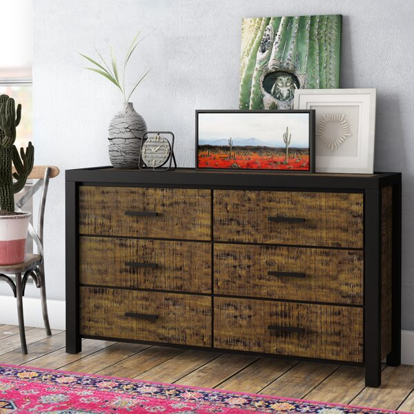 Pittson 6 Drawer Double Dresser by Trent Austin Design