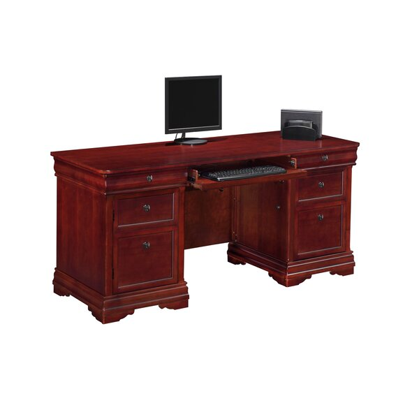 Flannagan Executive Desk by Three Posts