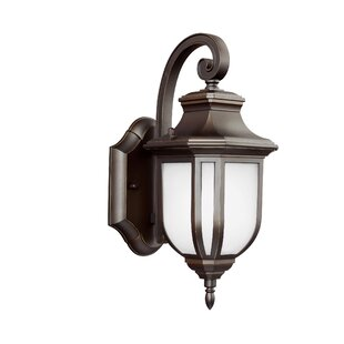 Great Price Teri 1-Light Outdoor Wall Lantern By Fleur De Lis Living