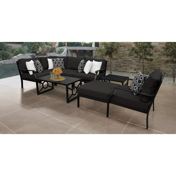 Madison Ave. 8 Piece Sectional Seating Group with Cushions by Darby Home Co