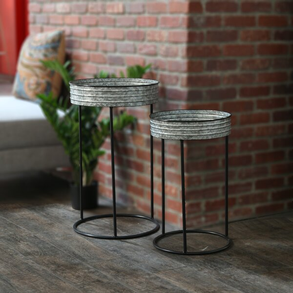 Griselda 2 Piece Nesting Tables by Williston Forge
