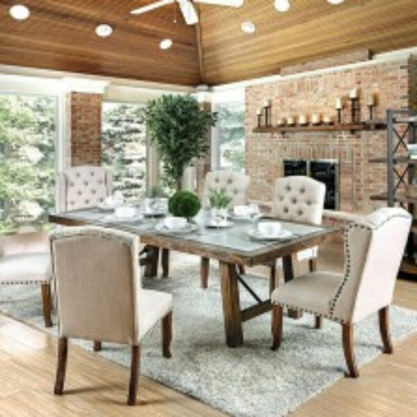 Hendrix 7 Piece Dining Set by Ophelia & Co.