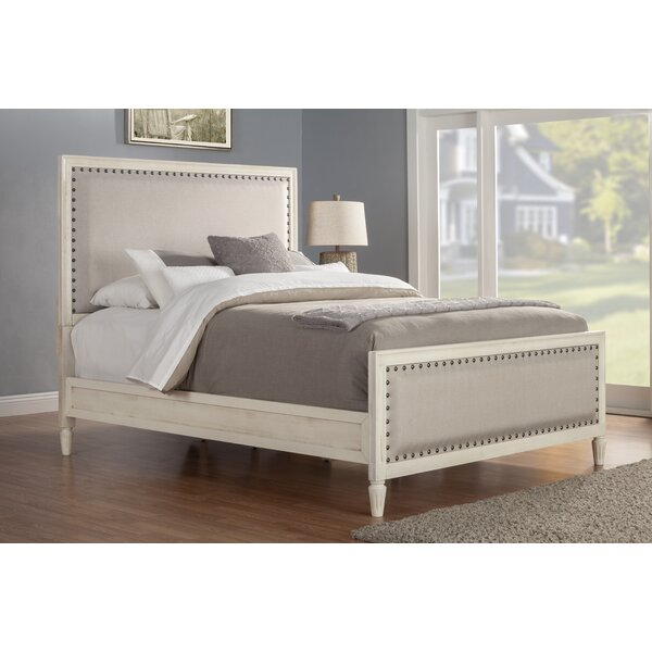 Shirke Upholstered Standard Bed by One Allium Way