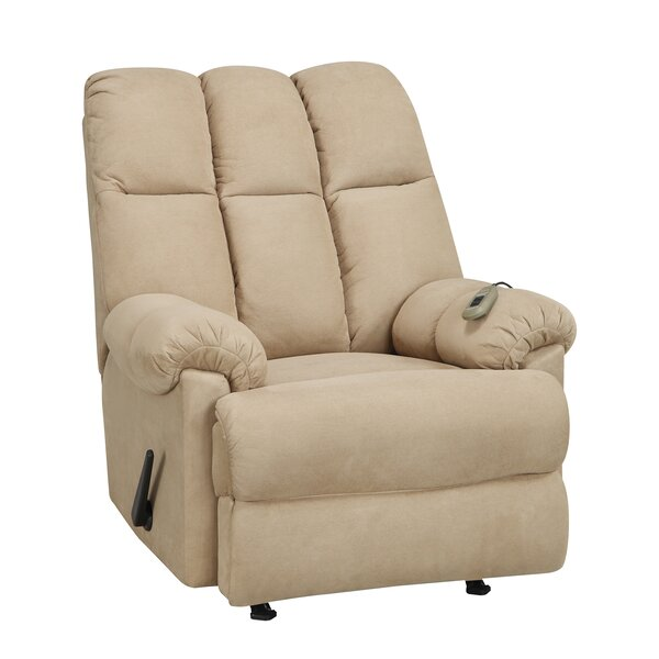 Carole Padded Massage Manual Rocker Recliner By Alcott Hill