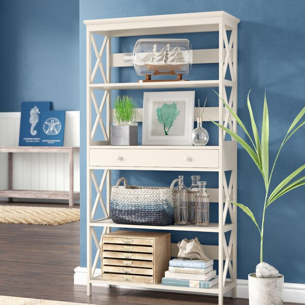 Gracelynn 5 Tier Standard Bookcase by Beachcrest Home