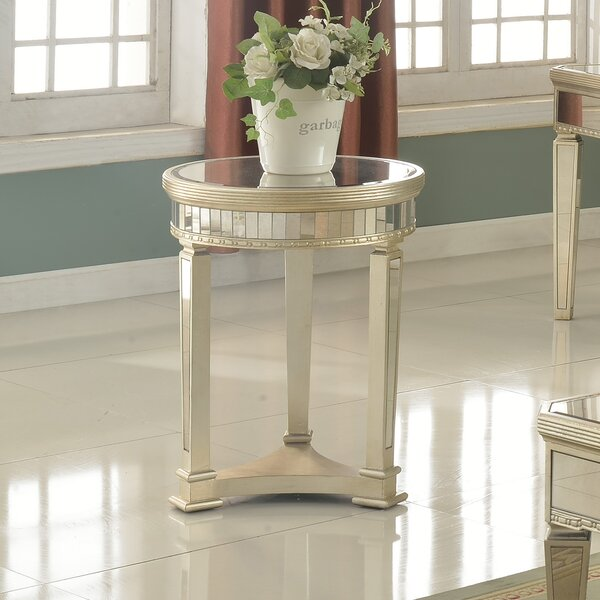 Felicia Round End Table by Willa Arlo Interiors