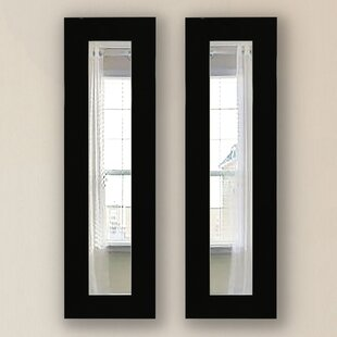 Brayden Studio Grandberry Panel Accent Mirror (Set of 2)