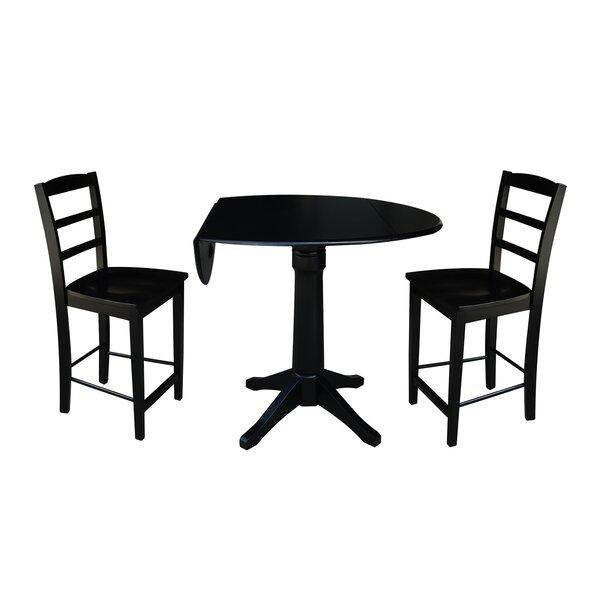 Bache 3 Piece Pub Table Set by Alcott Hill