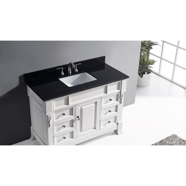 Kolten 47 Single Bathroom Vanity Set with Mirror by Darby Home Co