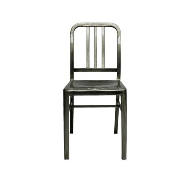 Higgston Stainless Dining Chair by 17 Stories