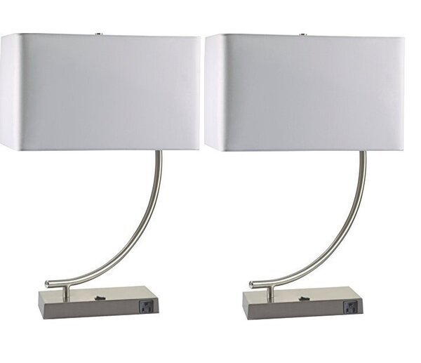 Kristeen 22.5 Table Lamp (Set of 2) by Orren Ellis