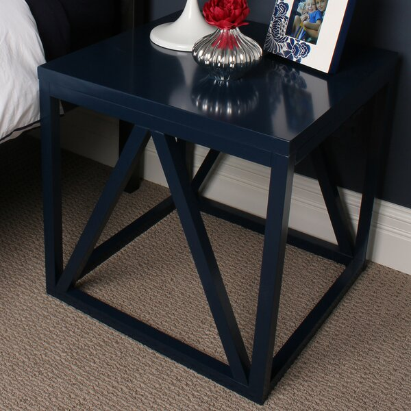 Sievers Wood Cube End Table By Red Barrel Studio