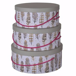 Decorative Round Hat Boxes With Lids Wayfair