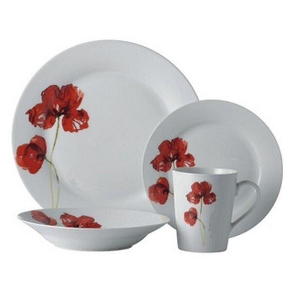 Bulkley 16 Piece Dinnerware Set, Service for 4 by Ebern Designs