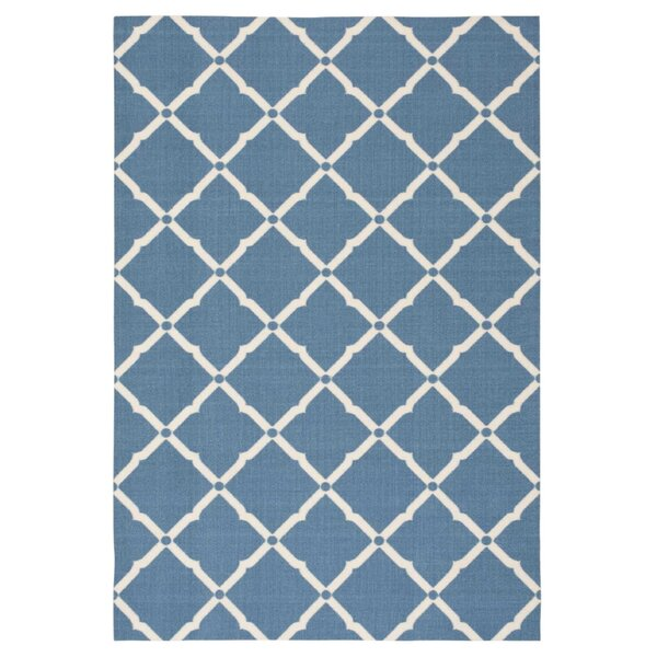 Crestmont Navy Indoor/Outdoor Area Rug by Rosecliff Heights
