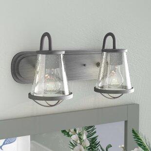 Bargain Regan 2-Light Vanity Light ByBeachcrest Home