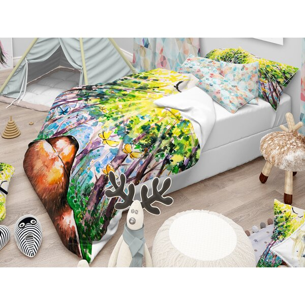 Dog Duvet Cover Set by East Urban Home