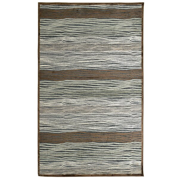 Ricardo Brown/Gray/Green Slate Rug by Rug Studio