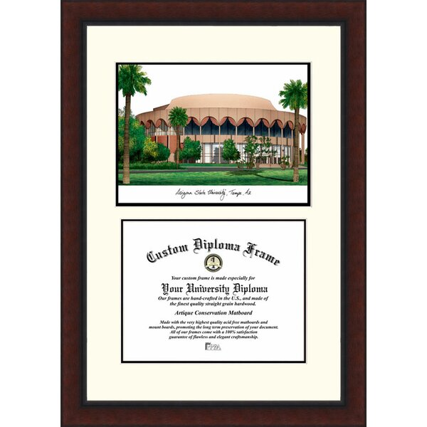 NCAA Arizona State University Legacy Scholar Diploma Picture Frame by Campus Images