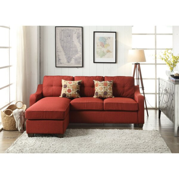 Wilmington Reversible Sectional by Charlton Home