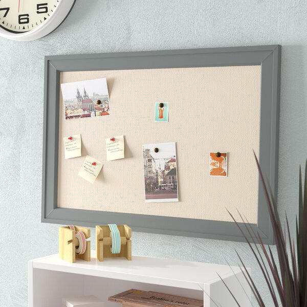 Contemporary Wall Mounted Bulletin Board by Ivy Bronx