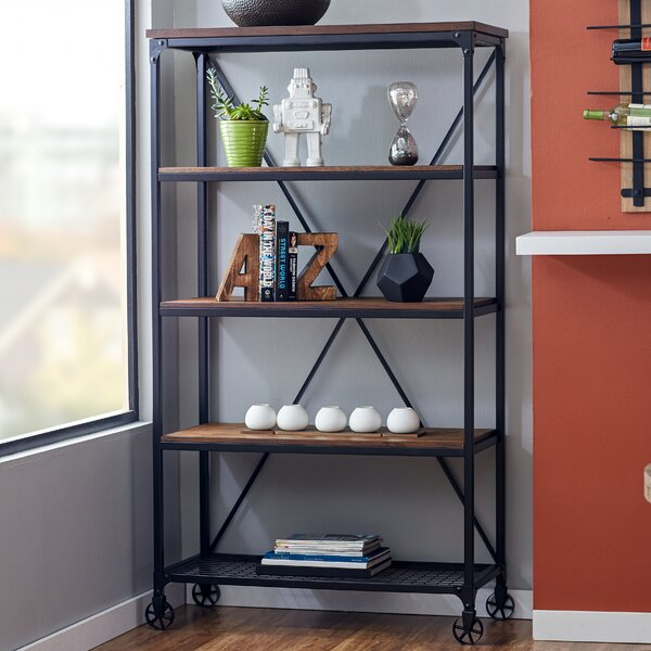 Corvus Etagere Bookcase by Mercury Row