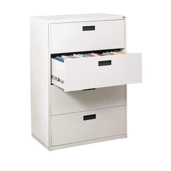 400 Series 4-Drawer Lateral Filing Cabinet by Sandusky Cabinets